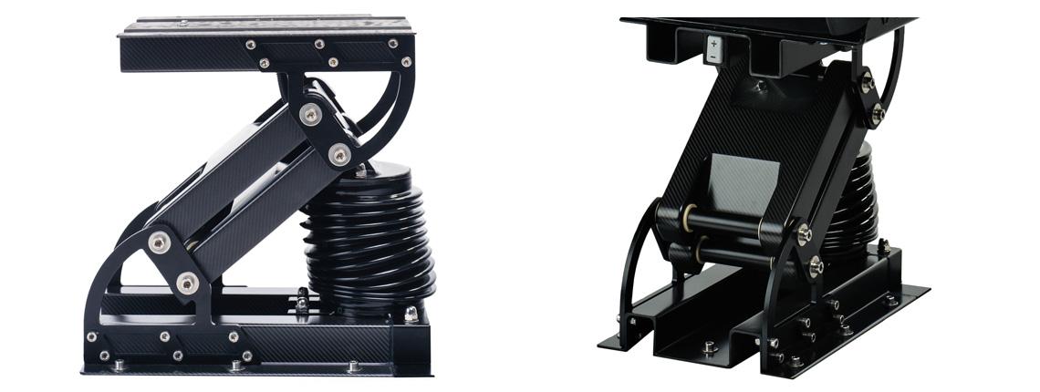 Carbon suspension voor Recaro Sun marine seats